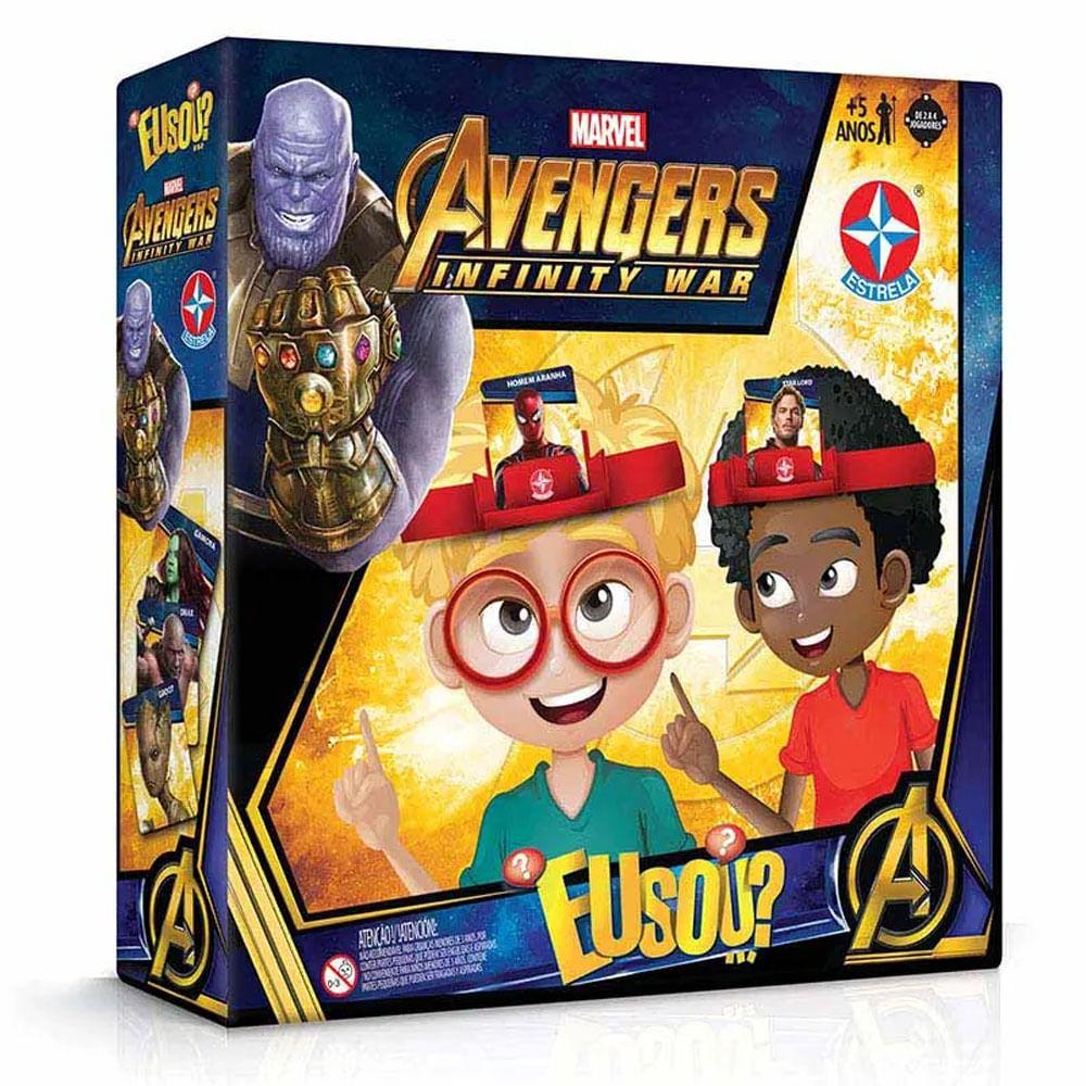 Jogo Eu Sou - Vingadores - Guerra Infinita - Marvel - Disney - Estrela