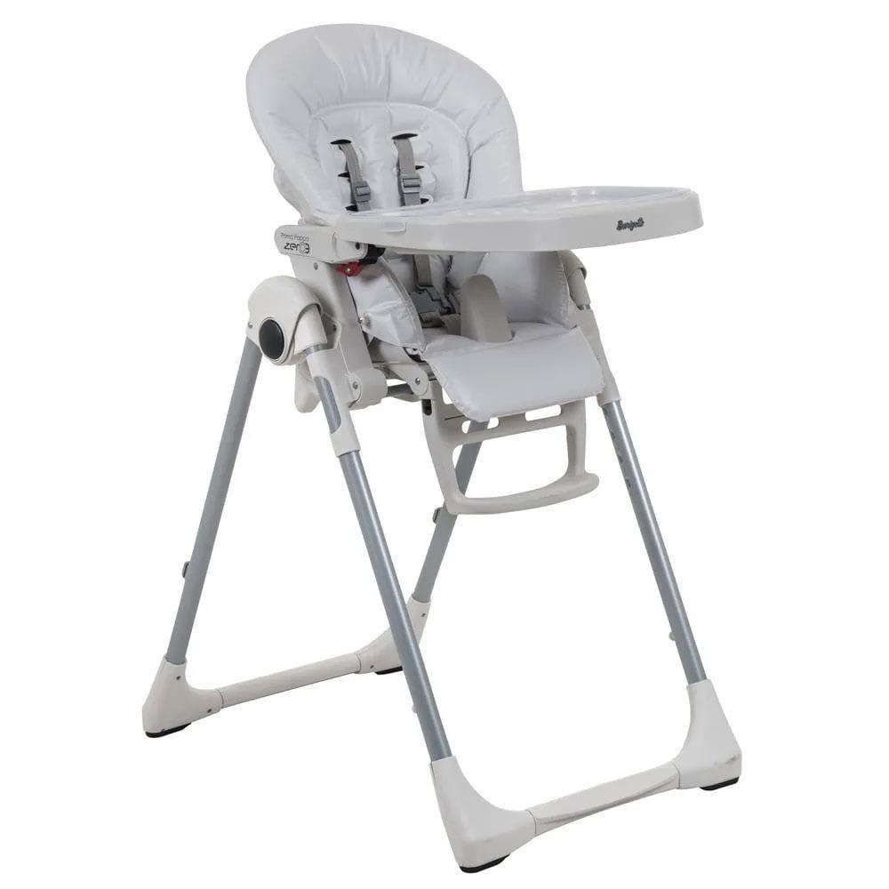 Cadeira de Alimentação - Prima Pappa Zero 3 - Branca - Burigotto