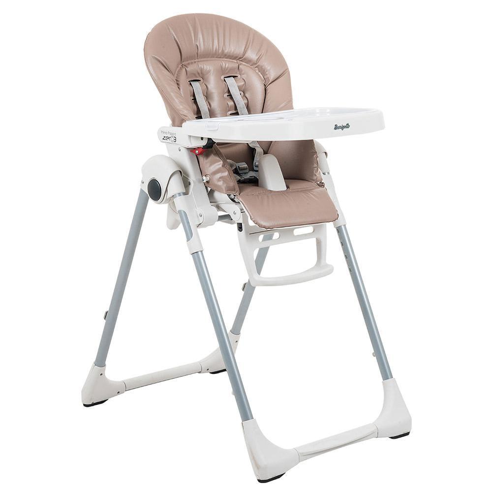 Cadeira de Alimentação - Prima Pappa Zero 3 - Capuccino - Burigotto