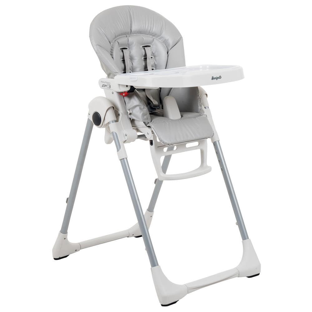 Cadeira de Alimentação - Prima Pappa Zero 3 - Ice - Burigotto