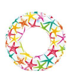 Acessorios-de-Praia-e-Piscina---Boia-Redonda---51-Cm---Estrelas-do-Mar---Intex