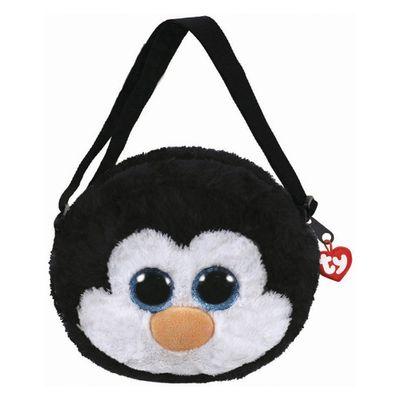 Bolsa-de-Pelucia---TY---Waddles---Pinguim---DTC
