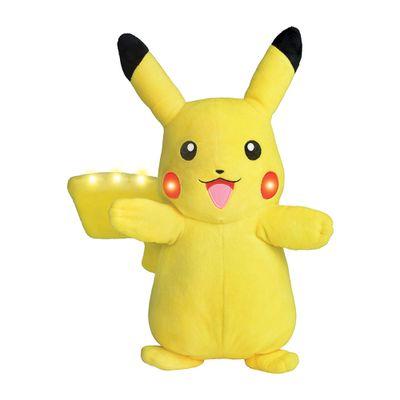 Pelucia-Grande---30-Cm---Pokemon---Pikachu-com-Luzes-e-Sons---DTC