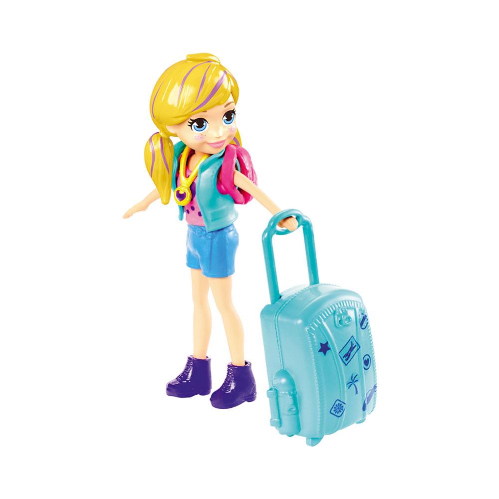 Boneca e Acessórios - Polly Pocket - Polly Conjunto de Viagens - Mattel