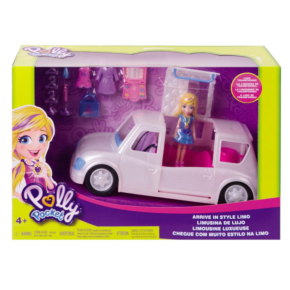 Veículo e Boneca - Polly Pocket - Limosine de Luxo - Mattel