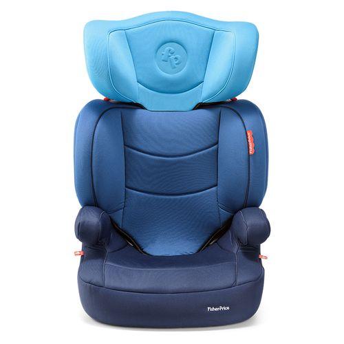 Cadeira Para Auto - De 15 a 36 Kg - Highback Fix com Base Isofix - Azul - Fisher-Price