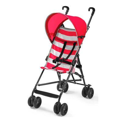 Carrinho-de-Passeio---Guarda-Chuva-Navy---Vermelho---Multikids-Baby
