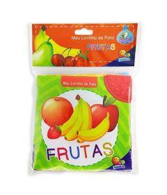 Livro-Infantil-com-Mordedor---Meu-Livrinho-de-Pano---Frutas---TodoLivro
