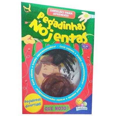Livro-Infantil-com-Miniaturas---Diversao-Para-Aprender--II---Pegadinhas-Nojentas---TodoLivro