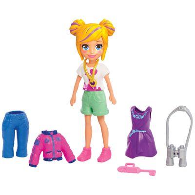 Boneca-e-Acessorios---Polly-Pocket---Conjunto-Fashion-Pequeno-da-Polly---Mattel