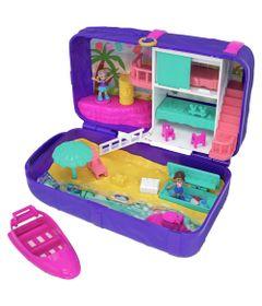Playset-com-Boneca-e-Veiculo---Polly-Pocket---Polly-Lugares-Escondidos---Praia---Mattel