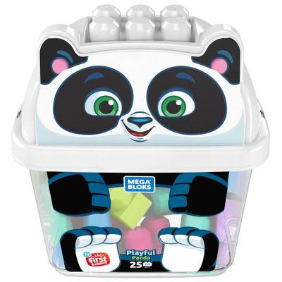 Blocos-de-Montar---Mega-Bloks---Amigo-Panda-25-Pecas---Fisher-Price_Frente
