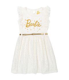 Vestido-Manga-Curta---Algodao---Bege---Barbie_Frente