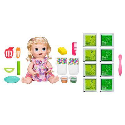 kit-boneca-baby-alive-comilona-loira-e3403-hasbro-e-acessorios-baby-alive-refil-de-comida-hasbro_Frente
