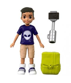 mini-boneco-com-acessorios-polly-pocket-nicolas-com-bastao-de-selfie-mattel-_Frente