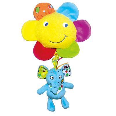 Pelucia-Musical---Elefante-com-Flor---33cm---Love