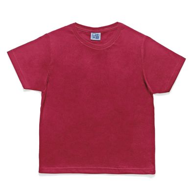 Camiseta-em-Algodao---Lisa---Vermelha---Duduka