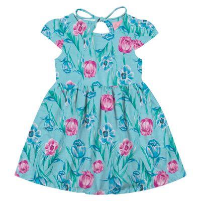 Vestido-em-Algodao---Floral---Azul---Duduka