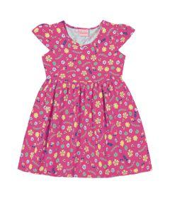 Vestido-em-Algodao---Floral---Rosa---Duduka