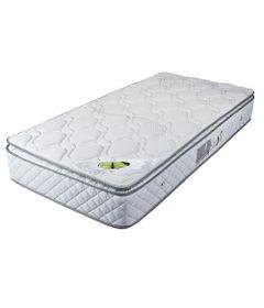 Colchao-de-Solteiro---188x88x25-Cm---Montreal-One-Side-Pillow-Pastel---Luckspuma