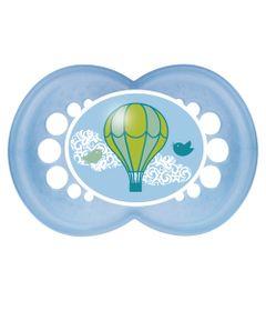 Chupeta-Pearl-Silk-Touch---Boys---Fase-2---Balao-Azul---MAM