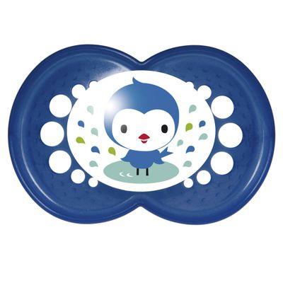 Chupeta-Pearl-Silk-Touch---Boys---Fase-2---Passarinho-Azul---MAM