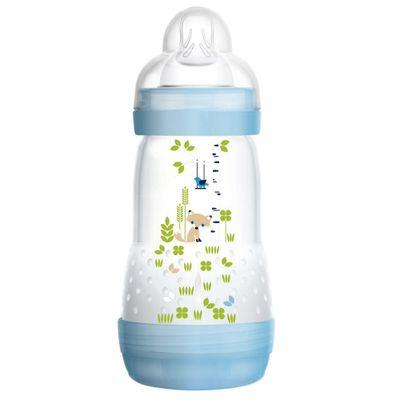 Mamadeira-First-Bottle---Boys---260ml---Cachorrinho---MAM