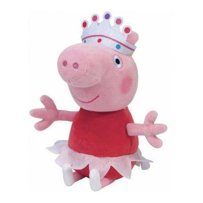 Pelucia-20-Cm---Pequena---TY---Peppa-Pig---Ballerina---DTC