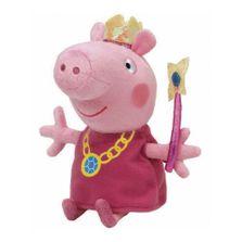 Pelucia-20-Cm---Pequena---TY---Peppa-Pig---Princess---DTC