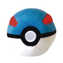 Pelucia-Pequena---12-Cm---Pokemon---Pokebolas-Grande-Bola---DTC