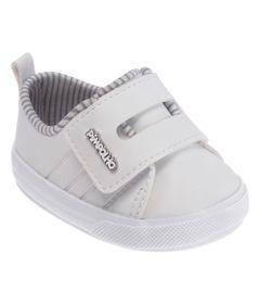 Tenis-para-Bebes---Batizado---Velcro-Duplo---Branco---Pimpolho