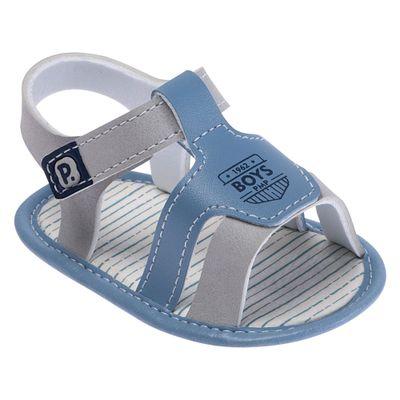 Sandalia-Para-Bebes---Courinho-e-Silk---Boys---Azul-e-Cinza---Pimpolho