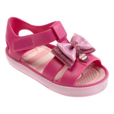 Sandalia-Para-Bebes---Colore---Laco-e-Cupcake---Rosa---Pimpolho
