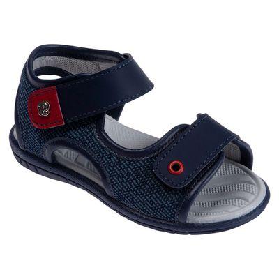 Sandalia-Para-Bebes---Fake-Jeans---Azul-Marinho---Pimpolho