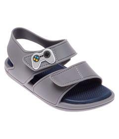 Sandalia-Para-Bebes---Colore---Joy-Stick---Cinza---Pimpolho