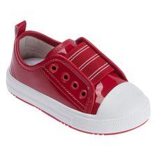 Tenis-Para-Bebes---Verniz-com-Elastico---Vermelho---Pimpolho