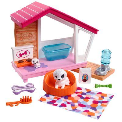 Acessorios-de-Boneca---Barbie---Moveis-de-Casa---Casinha-de-Cachorro---Mattel