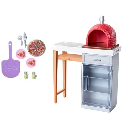 Acessorios-de-Boneca---Barbie---Moveis-de-Casa---Forno-de-Pizza---Mattel