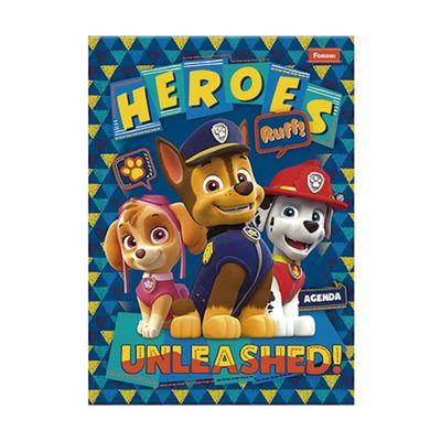 Agenda-Escolar-Permanente---Patrulha-Canina---Heroes---Foroni