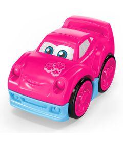 Blocos-de-Montar---Mega-Bloks---Primeiros-Carrinhos-de-Competicao---Rosa---Mattel