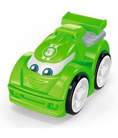 Blocos-de-Montar---Mega-Bloks---Primeiros-Carrinhos-de-Competicao---Verde---Mattel