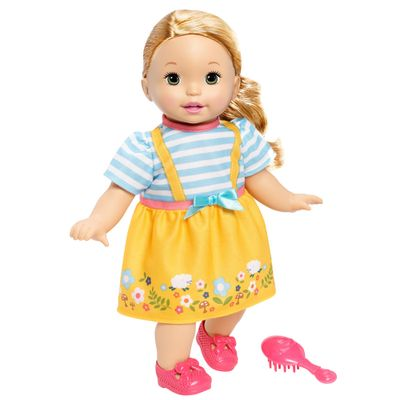 Boneca-Bebe---Little-Mommy---Doce-Bebe---Saia-Amarela---Mattel