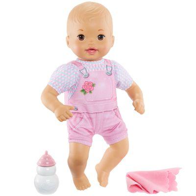 Boneca-Bebe---Little-Mommy---Recem-Nascido---Macacao-Listrado---Mattel