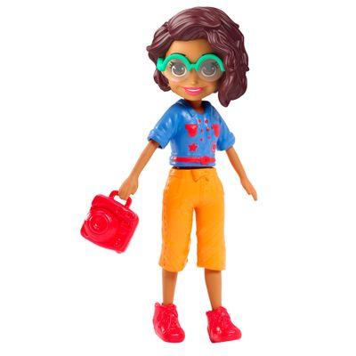 Boneca-e-Acessorios---Polly-Pocket---Conjunto-Fashion-Pequeno---Estilo-New-York---Mattel