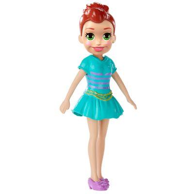 Boneca-e-Acessorios---Polly-Pocket---Polly-Happy-Hour---Morena-com-Vestido-Azul---Mattel