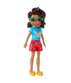 Boneca-e-Acessorios---Polly-Pocket---Polly-Happy-Hour---Negra-com-Camisa-Azul---Mattel