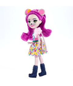 Boneca-Fashion-e-Animal---Enchantimals---Mayla-Mouse-e-Fondue---Mattel