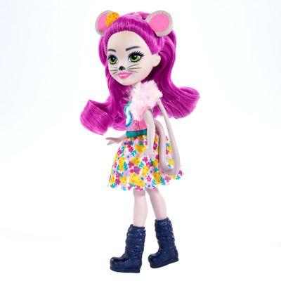 Boneca-Fashion-e-Animal---Enchantimals---Mayla-Mouse-e-Fondue---Mattel