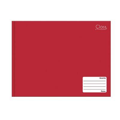 Caderno-de-Cartografia-E-Desenho---Class---Vermelho---96-Folhas---Foroni