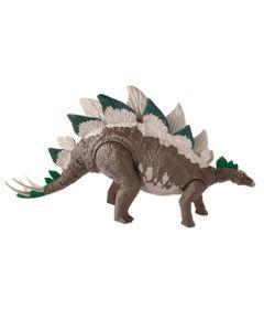 Mega-Figura-Articulada---Jurassic-World-2---Dino-Rivals---Ataque-Duplo---Stegosaurus---Mattel